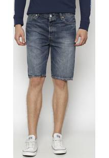 Bermuda Jeans 501® Estonada - Azul Escurolevis
