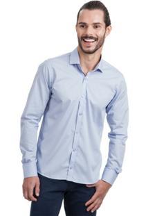 Camisa Di Sotti Slim Lisa Lilás - Masculino