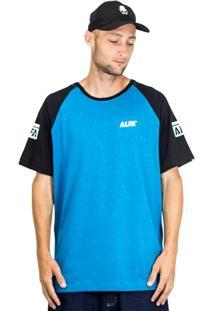 Camiseta Alfa Raglan Logo - Masculino