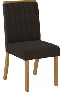Cadeiras Para Cozinha Tauá Nature/Marrom - Henn