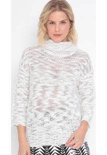 Blusão Em Tricô- Off White- Malweemalwee