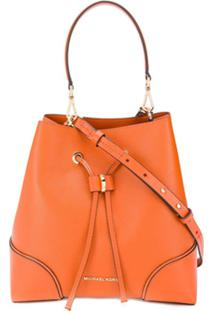 Michael Michael Kors Medium Pebbled Shoulder Bag - Laranja
