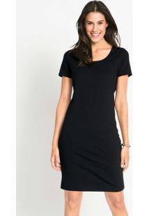 Vestido Básico Curto Preto