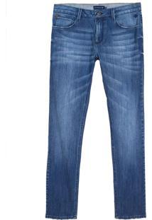 Calça Dudalina Jeans Masculina (Jeans Medio, 36)