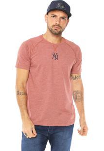 Camiseta New Era New York Yankees Caramelo