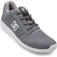 16867f8a94 Tênis Dc Shoes Mid Adys Masculino - Masculino-Cinza+Branco