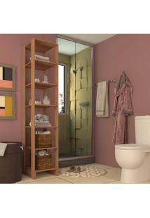 Armário Para Banheiro 6 Prateleira Yes Nova Mobile