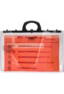 Mm6 Maison Margiela Bolsa Tote - Neutro