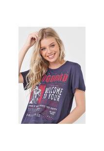 Camiseta Colcci Vanguard Azul-Marinho