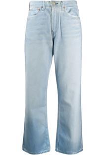 Rag & Bone Calça Jeans Maya Cintura Alta - Azul