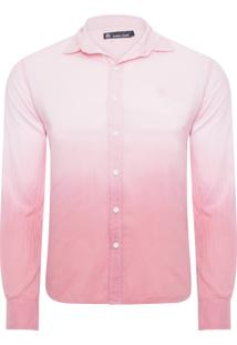 Camisa Masculina Guava Heaven - Rosa