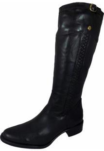 Bota Montaria Estevam Boots Simples Preta