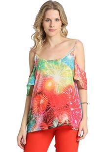 Regata Energia Fashion Estampada Multicolorida