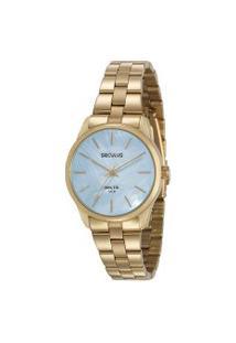 Relógio Analógico Seculus Feminino - 77013Lpsvda1 Dourado
