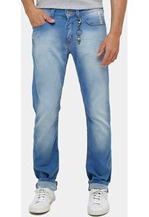 Calça Jeans Forum Gilmar Indigo Masculina - Masculino