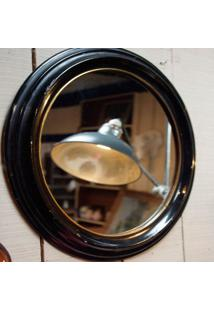 Espelho De Madeira 88 Cm - Incolor - Dafiti