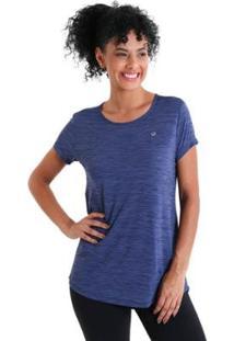 Camiseta Líquido Levíssima Energy Feminina - Feminino-Azul