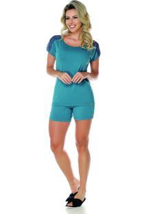Pijama Sonno Vinci 87023 Verde