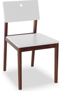 Cadeira Flip I Cacau E Branco