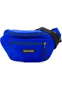 Balenciaga Pochete Explorer - Azul
