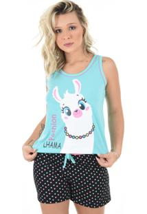 Baby Doll 4 Estações Pijama Ihama Regata Feminino Adulto Curto Short Moda Verão