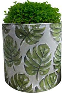 Vaso De Cerâmica Cinza Forest Grande Urban Home