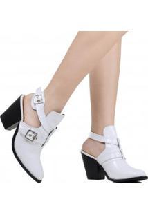 Sapato Zariff Salto Grosso Fivela