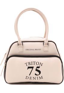 Bolsa Triton 75 Denim Rosa