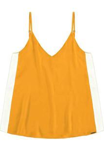 Blusa Tecido Rayon Twill Amarelo