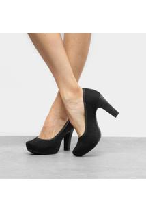 fc2760fbab R$ 159,90. Zattini Sapato Feminino Nude Preto Dakota Feminino-Preto Scarpin  ...