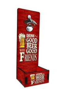 Abridor De Garrafa Grande Drink Good Beba Bem