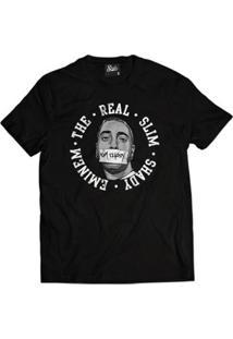 Camiseta Skull Clothing Eminem Masculina - Masculino