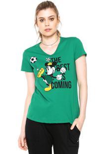 Camiseta Cativa Disney Brasil Verde