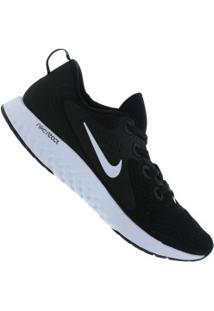 f1f244fe0 Centauro. Tênis Nike Legend React - Feminino - Preto Branco