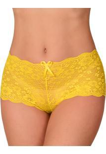 Calcinha Vip Lingerie Calesson Amarelo