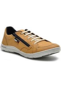 Sapatênis Dr Shoes Casual Masculino - Masculino-Amarelo