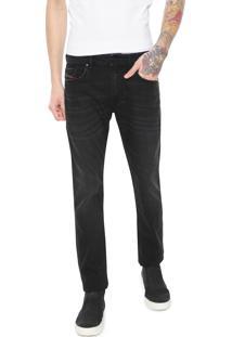 Calça Jeans Diesel Slim Thommer Preta