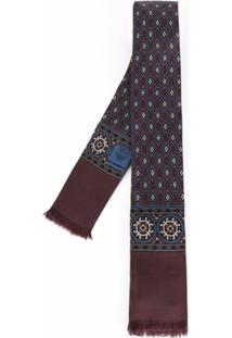 Dolce & Gabbana Lenço Gravata De Seda - Vermelho