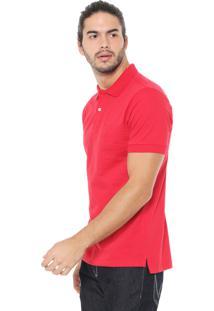 Camisa Polo Wrangler Logo Vermelha