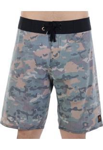 Bermuda Água Rusty Mult Camuflada Militar - Masculino