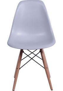 Cadeira Eames Dkr C/ Base De Madeira Or-1102B – Or Design - Cinza