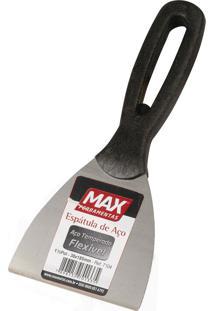 Espátula De Aço Temperado Com Cabo Plástico Max, 8 Cm - 7108