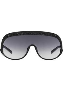 Jimmy Choo Eyewear Óculos De Sol Máscara De Ski - Preto