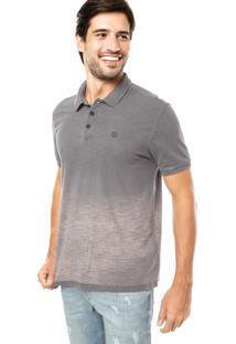 ... Camisa Polo Calvin Klein Jeans Degradê Cinza 6ab989ec6f8bf