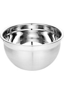 Tigela Mixing Bowl Inox Escovado 30 Cm - Tigela Mixing Bowl Inox 30Cm