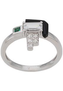 V Jewellery Elodie Ring - Prateado