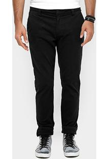 Calça Skinny Calvin Klein Chino Masculino - Masculino
