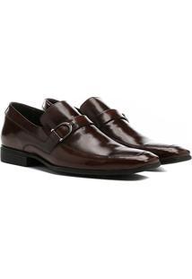 Sapato Social Couro Shoestock Ferragem - Masculino