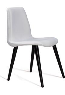 Cadeira Eames Tecido Pe Madeira Daf Cru