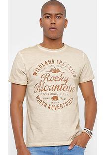 Camiseta Tigs Tinturada Rocky Masculina - Masculino